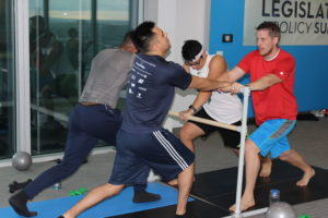 Barre-None: alliantgroup Uses Exercise to Help Stimulate Employees' Mind and Body