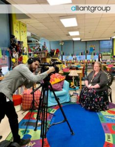 alliantgroup Visits Helms Dual Language Elementary School