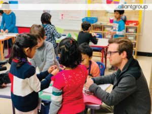 alliantgroup Visits T.H. Rogers Elementary School