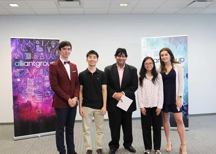 alliantgroup Hosts Helping Houston Mixer
