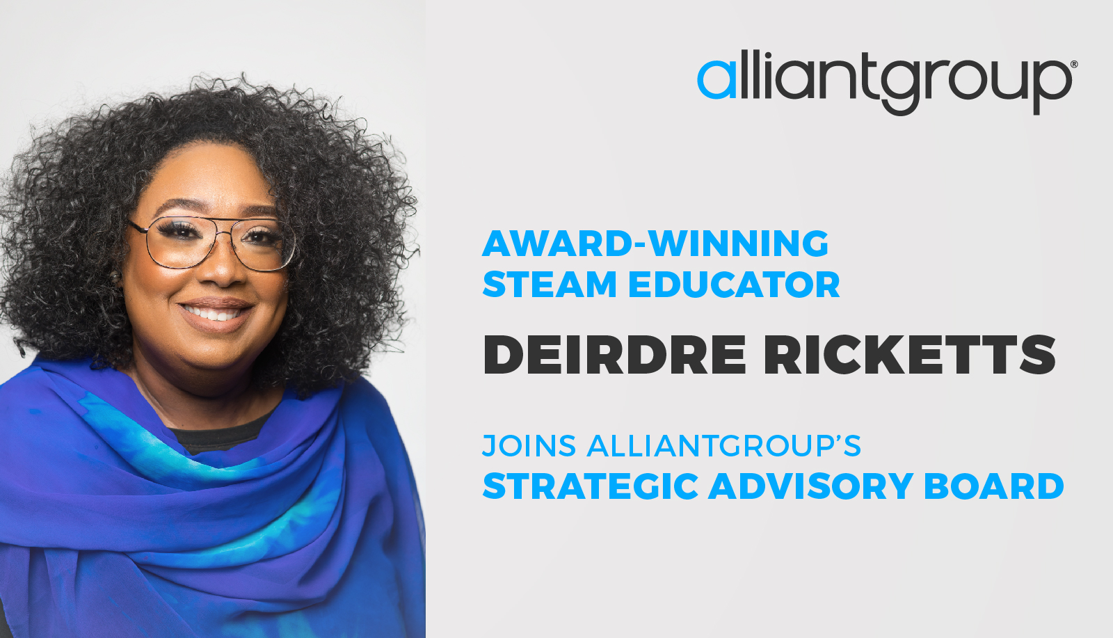 alliantgroup welcomes Deirdre Ricketts to their Strategic Advisory Board